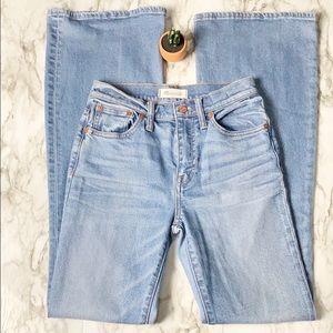 Madewell High Waist Flea Market Flare Jeans 25